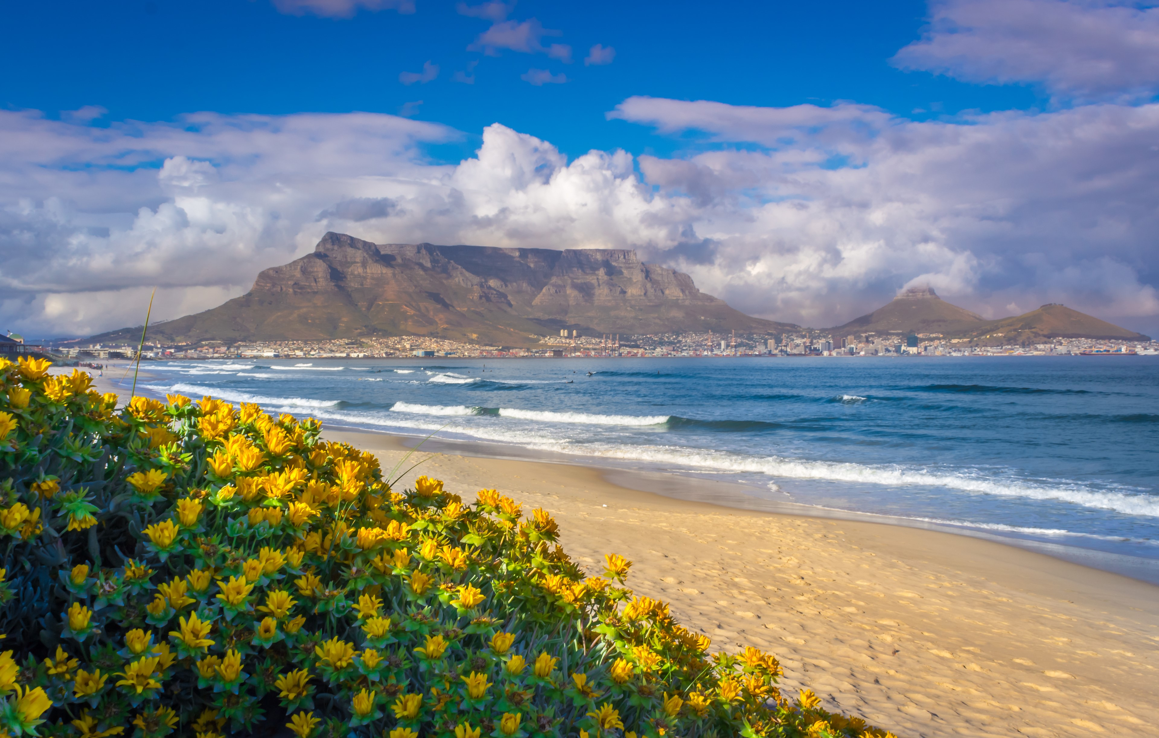 Table Mountain from Milnerton Beach
