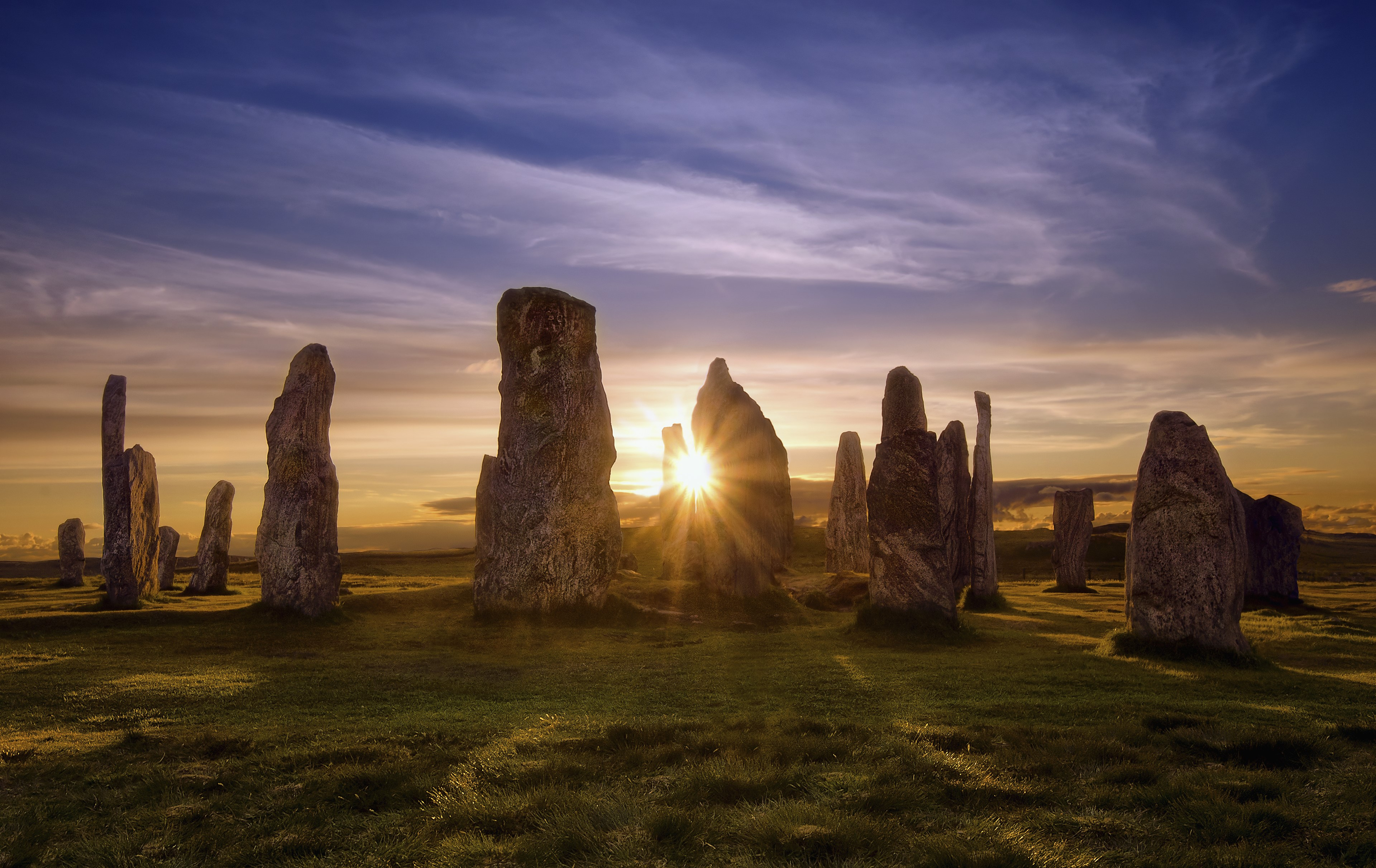 Callanish Stones at Sunset