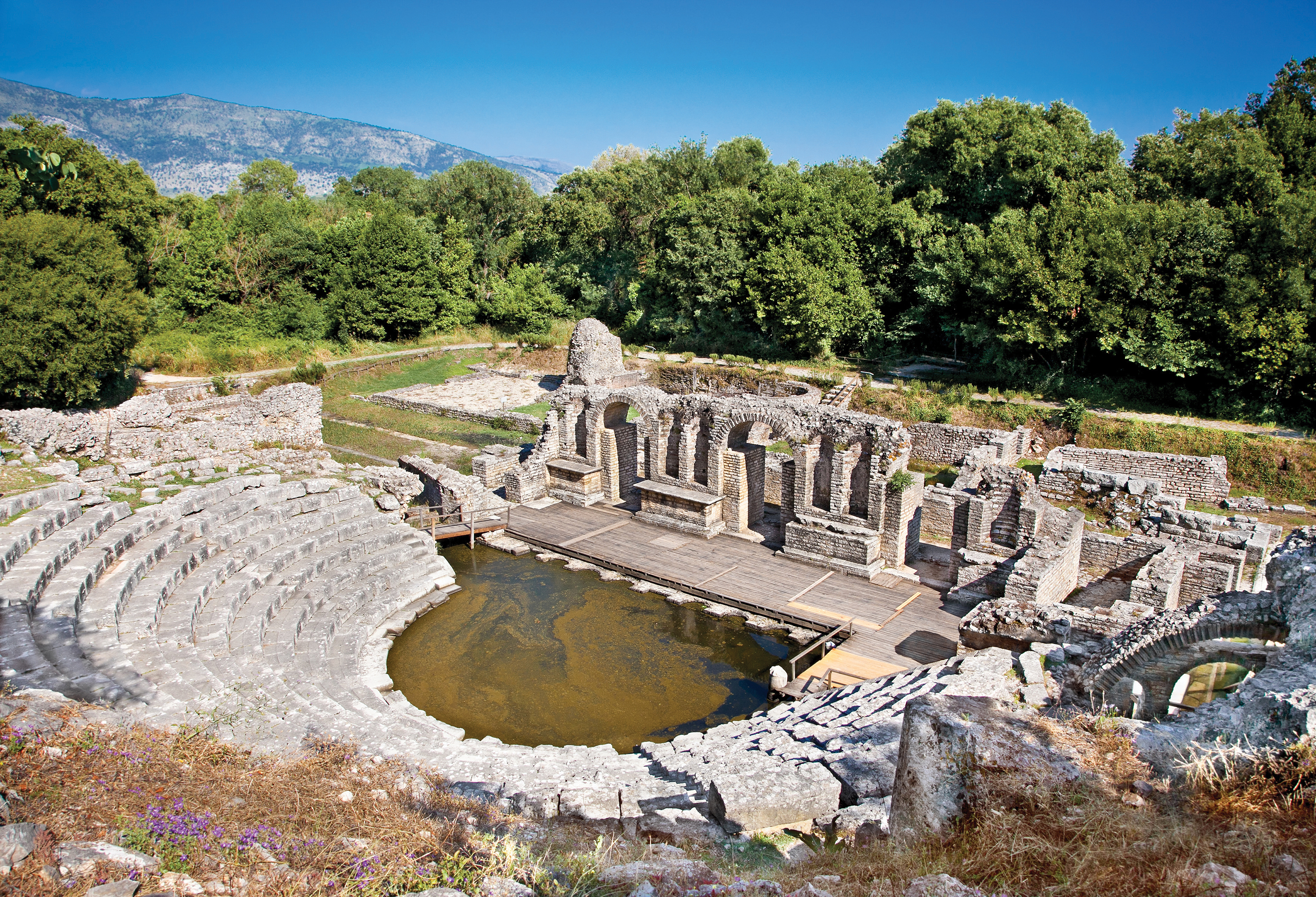 Amphitheatre at Butrint