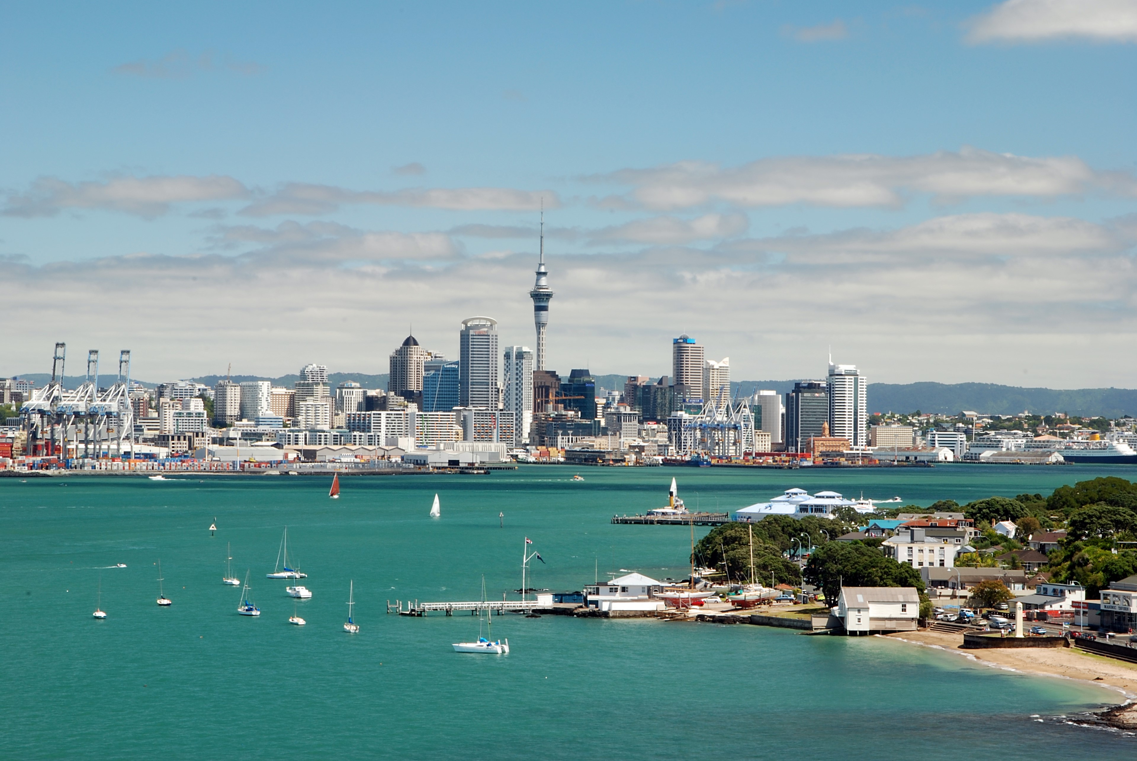 Auckland Skyline from Devonport