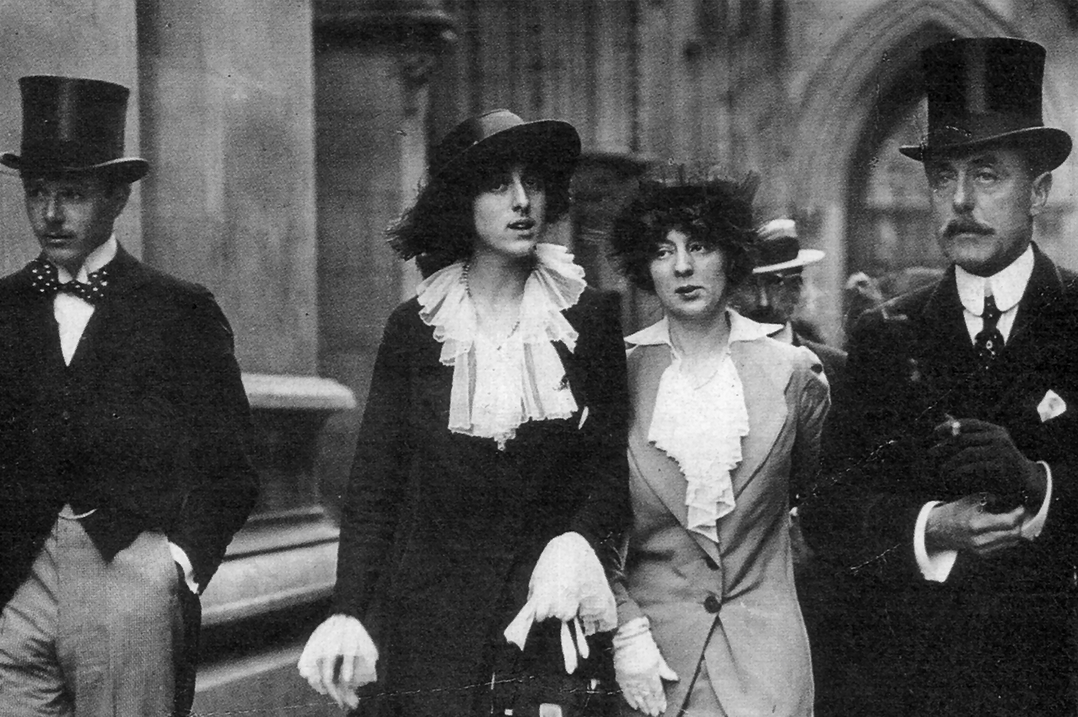 Vita Sackville-West, of Sissinghurst in Kent (second from left)