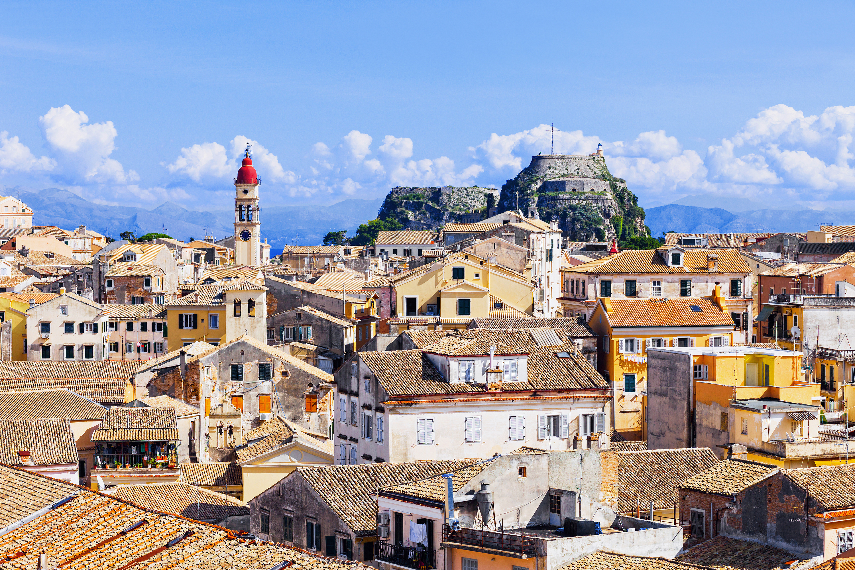 View of Corfu Town